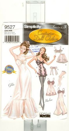 Free Copy of Pattern - Simplicity 9527