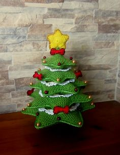 Ravelry: Christmas Tree pattern by CreativityClaudia