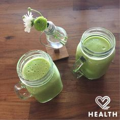 Did you eat your greens today? We did with a big mighty dose of #greensmoothie! Get amazing green smoothie recipes on 2 Health App! Download for only $0.99p (download link in bio)!  #2healthapp #greenpower #food #foodporn #foodie #foodlovers #instahealth #instafood #fitfoodie #fitfam #weightloss #vegan #weekendvibes