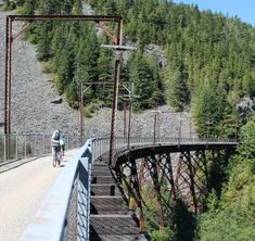 10 longest rail-trails for bicycling — John Wayne Pioneer Trail in Washington leads the list