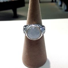 Sterling silver moonstone ring #ring #jewelry #silver