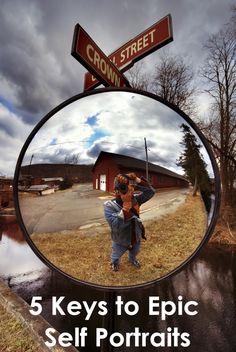 5 Keys to Epic Self Portraits   Backdrop Express Photography Blog