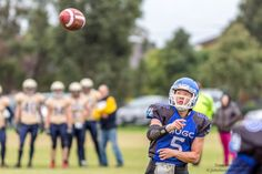 Did he just throw the football or is he waiting to catch it? #photographytalk #football