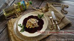 Kulinarne przygody Gatity: Śledź w oleju z pieczonymi burakami