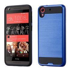 MYBAT Merge Brushed HTC Desire 626 Case - Dark Blue/Black