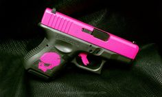 Cerakote Coatings: Gallery - The slide is done in H-141 Prison Pink. Gotta love that name!  For Sasha!