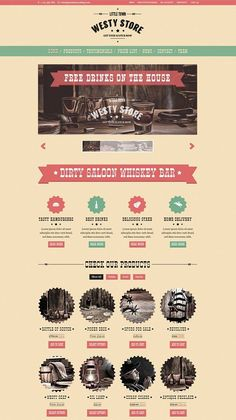 Westy - A cowboy WooCommerce Theme by PremiumCoding on @creativemarket