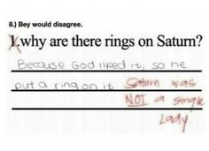 Why God put rings on Saturn!!  LMAO #Funnies #theFearlessTalkologist #laughteris the best medicine    15 Photos Guaranteed to Make You Laugh Every Time - brainjet.com