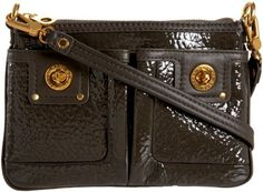 Marc Jacobs Totally Turnlock Shine Percy Cross-Body