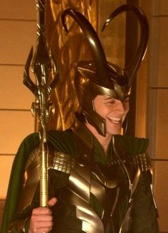 ~~Having a laugh on the Thor set~~