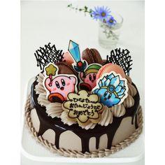 """""""2010.10.13 フルーツなしのマカロン乗せ、とのことだったのでそんな感じに(๑´ڡ`๑)  #character #charactercake #cute #kawaii #kawaiifood #birthdaycake #cake #sweets #cakepic #sweetspic…"""" Decoration, Birthday Cake, Instagram Posts, Desserts, Food, Bedroom Sitting Room, Decor, Tailgate Desserts, Deserts"""
