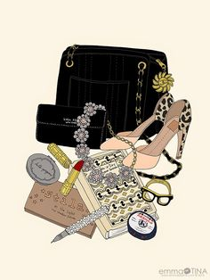 EmmaKisstina Illustrations by Kristina Hultkrantz: Blogger WIMB: Sarah O'Brien of Sit and Stay a While