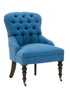 Buy Upholstered Tufted Side Chair - Club Chairs - Seating - Furniture - Dering Hall