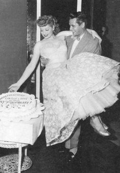 Lucille Ball and Desi Arnaz. What happened to love like this
