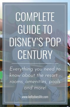 Pop Century Resort Complete Guide Rooms Amenities And More Pop Century Disneys Pop Century Resort Disney World Tips And Tricks