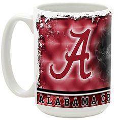 Alabama Crimson Tide 2012 BCS National Champions 15oz. Smoke Ceramic Mug