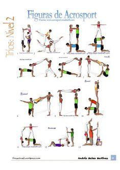 eps sport figurines 3d  4 acrogym  pyramides à 6  m