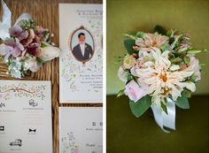 jolly edition wedding stationery. Photography by Megan Clouse by @jollyedition
