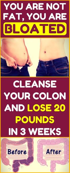 Cleanse your colon and lose 30 pounds within a month! Powerful remedy for weight loss.