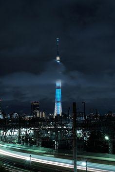 Tokyo Skytree, Japan Travel Share and enjoy! #asiandate