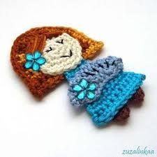 Resultado de imagen de apliques de crochet infantiles