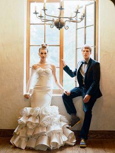 love this wedding dress. shot by elizabeth messina
