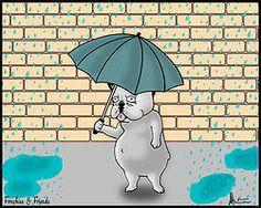 Cuatro consejos para pasear con tu Bulldog Francés bajo la lluvia