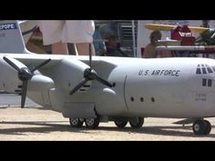 Rc giant airplane airshow Black Starr 2010 July Part II - YouTube