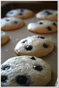 blueberry muffin top cookies - going to have to make these again SOON!