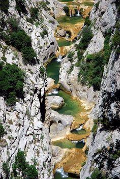 Gorges de Galamus ~ Pyrénées Orientales ~ France