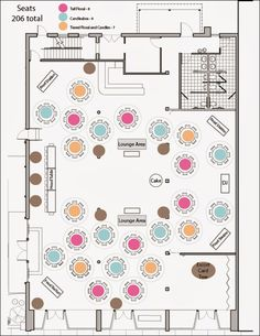 I kinda like the idea of mixing rectangular and circular for Event floor plan online free