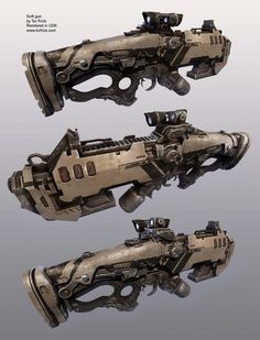 Scifi Rifle, Tor Frick
