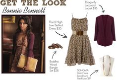 Get the Look: Bonnie Bennett. Replicate Bonnie's Look for Cheap!