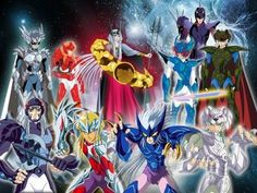Asgard Knights (Saint Seiya)