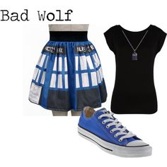 Doctor Who outfit. I may not be one to wear skirts often but I think I can make an exception :)
