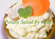 Potato Salad with Hearts Recipe -  Yummy this dish is very delicous. Let's make Potato Salad with Hearts in your home!