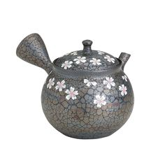 Tokyo Matcha Selection - Tokoname Pottery : SAKURA (A) - Japanese Kyusu tea pot 350cc Ceramic Mesh, $150.00 (http://www.tokyo-matcha-selection.com/tokoname-pottery-sakura-a-japanese-kyusu-tea-pot-350cc-ceramic-mesh/)