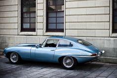 Jaguar E-Type with an english backseat passenger Jaguar Type E, Jaguar Cars, Automobile, British Sports Cars, Fast Cars, Sport Cars, Cars Motorcycles, Vintage Cars, Cool Cars