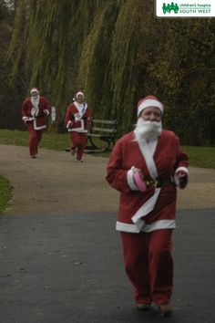 The perfect way to get into the festive mood.  Our Santas on the Run events are so much fun.  Find out how you can take part and help support Children's Hospice South West by visiting our website >>  www.chsw.org.uk/santas #santas #christmas #festivefun #chsw #charity #childrenshospice