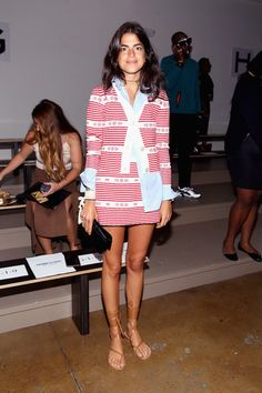 Leandra Medine gives a run-down of a day in the life during NYFW.