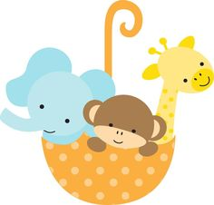 free baby animal clip art paper parties baby safari clip art rh pinterest com baby animal clipart buy baby animal clipart free