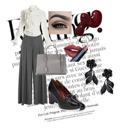 """Casual Elegance"" by notyouraverage5 on Polyvore featuring Fiebiger, Naturalizer, J.Crew, Vivienne Westwood, Yves Saint Laurent, Valentino, women's clothing, women, female and woman"