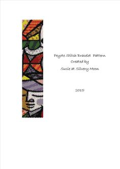 Peyote Stitch Even Count Beading Pattern - Modern Art