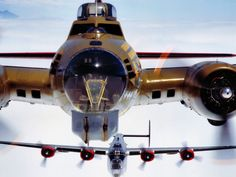 The Flying Fortress and the Liberator..