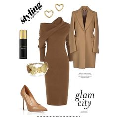 Carmeliscious ... Loving a bit of a caramel brown this season. #fallfashion #autumn #GetTheLook #WorkWear #officelook #businessfashion