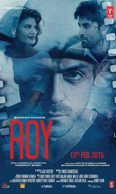 'Roy' poster featuring Ranbir Kapoor, Arjun Rampal and Jacqueline Fernandez. #Bollywood #Movies