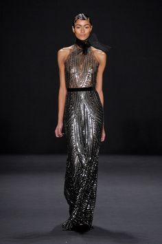 Naeem Khan Fall 2013 (as worn by Stacy Keibler (sp?)at the 2013 Academy Awards)