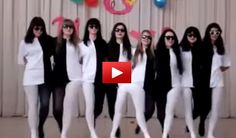 This is just cool. These dresses create such an optical illusion that makes this dance worth watching. It will definitely put a smile in your face.. SHARE with friends.. this one is pretty cool..
