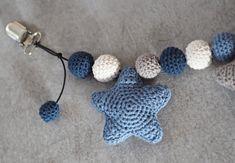 hæklet barnevognskæde Crochet Baby, Knit Crochet, Amigurumi Toys, Crochet Animals, Baby Toys, Diy And Crafts, Crochet Necklace, Projects To Try, Babys
