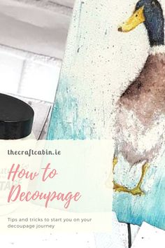 Join us and learn the tips and tricks to begin your decoupage journey. Video Includes: - Useful Tips - Tools - Tips - Tricks